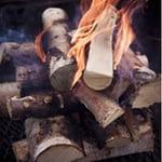 fuoco e legna